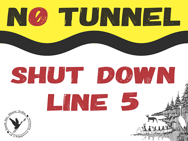 No Tunnel Yard Sign 6